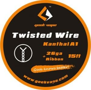 Rolă GeekVape Twisted DIY Kanthal KA1 (26GA*Ribbon)